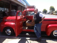Doug with and Old Bench Seat